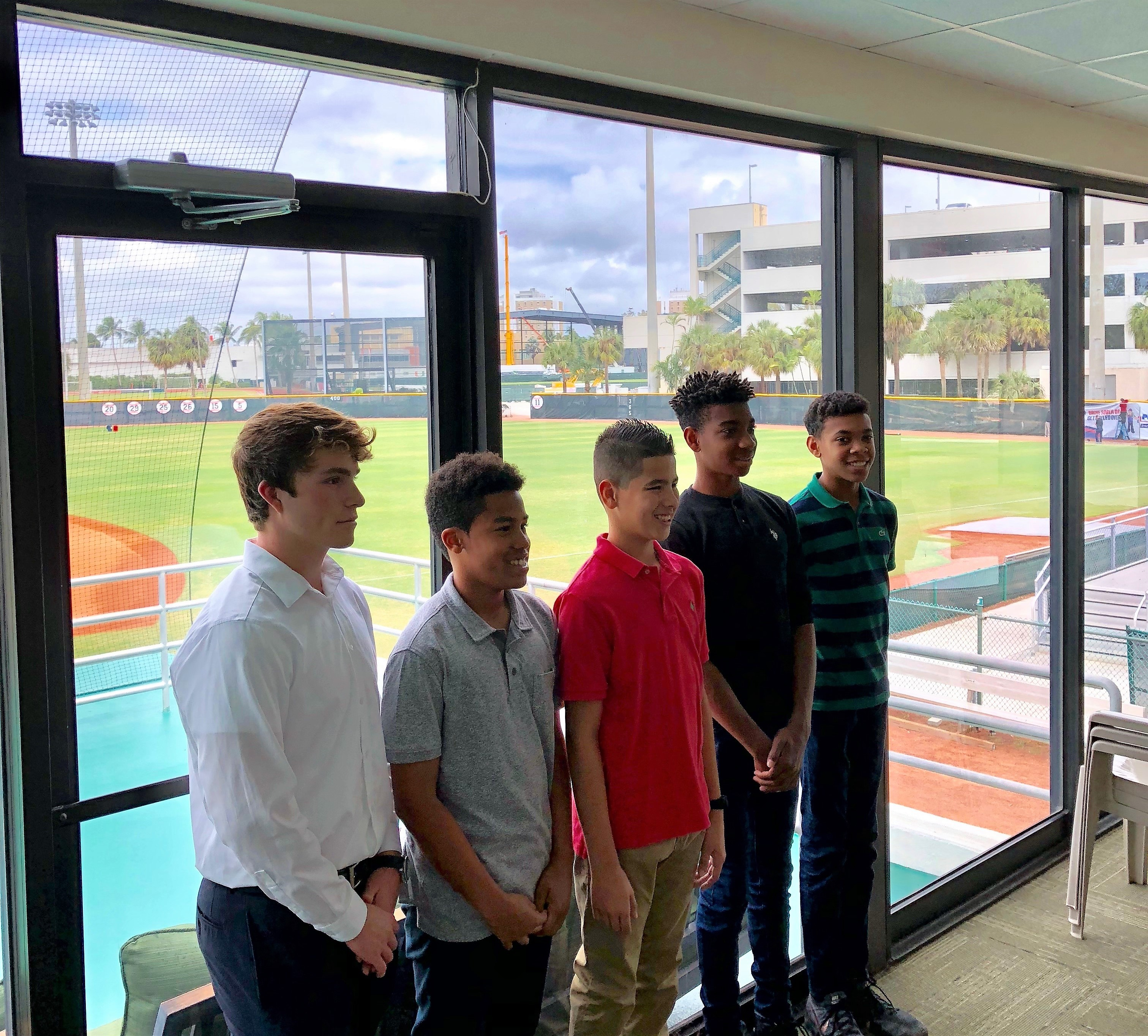 Future Baseball Hopefuls Visit UM
