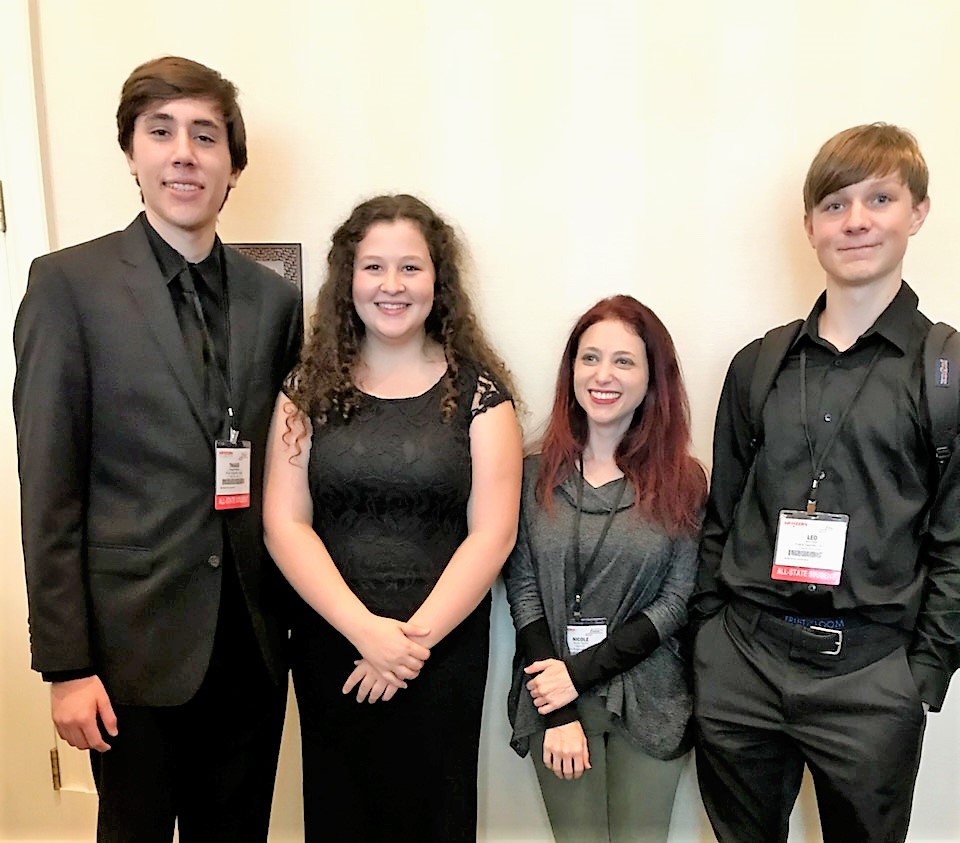 Music Students Make State Honors Ensemble